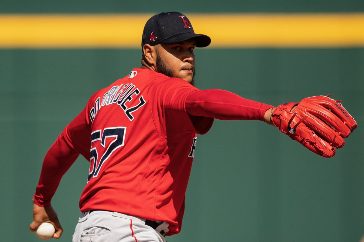 Eduardo Rodriguez Fans Four Over Four Innings as Red Sox Drop Fourth Straight