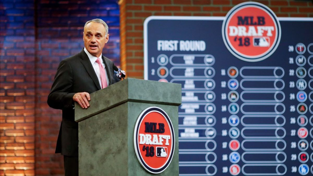 2020 MLB Draft to Be Held Remotely Over Two-Day Period Beginning June 10th
