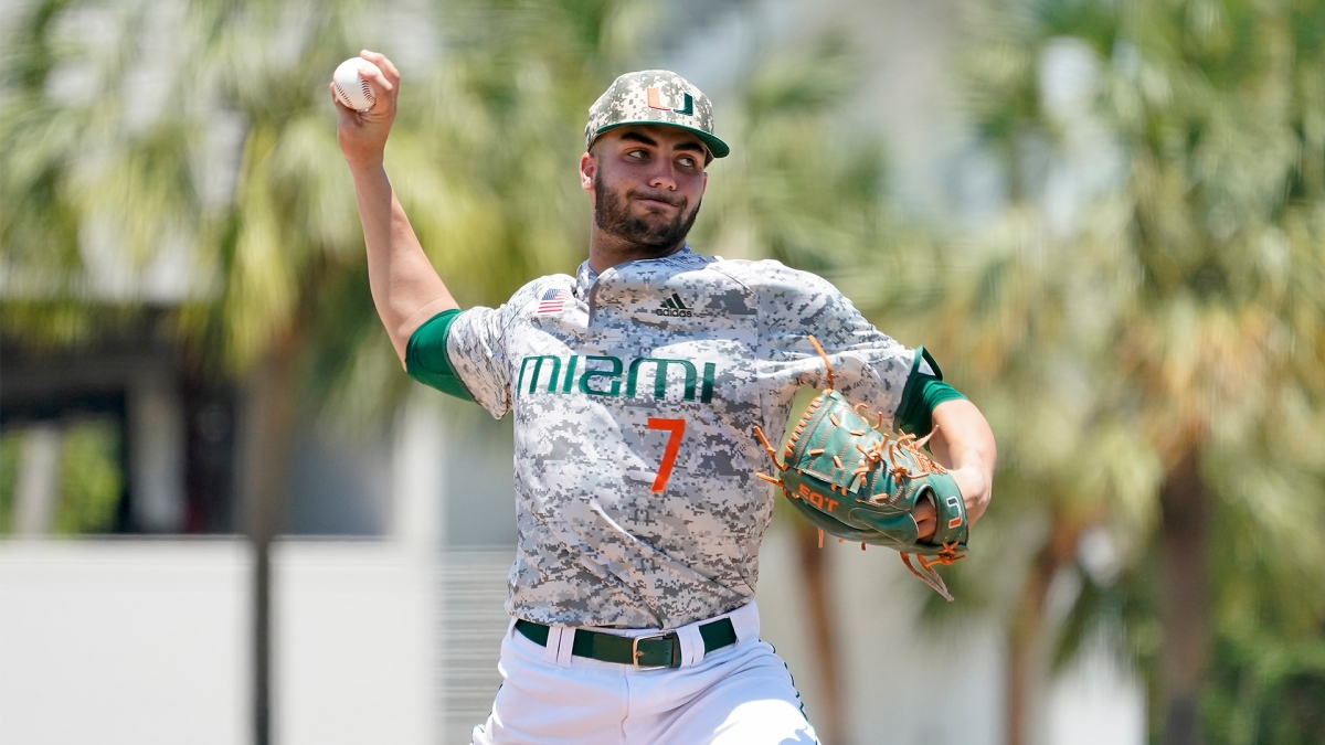 Latest 2020 Mock Draft Has Red Sox Taking University of Miami Right-Hander Chris McMahon With Top Pick