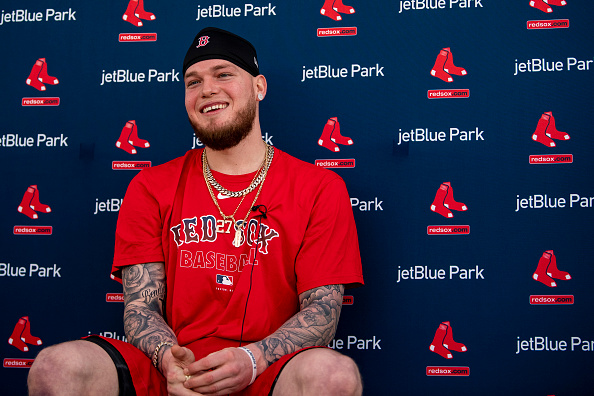 Red Sox' Alex Verdugo: 'Whenever the Season Starts I Think I Will Be Ready'