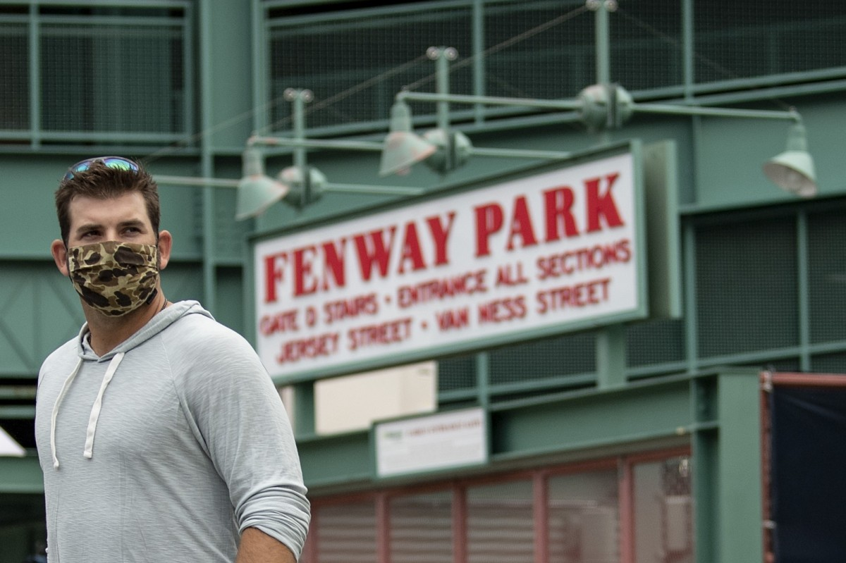 First Wave of Red Sox Players Report to Fenway Park for Start of Summer Camp