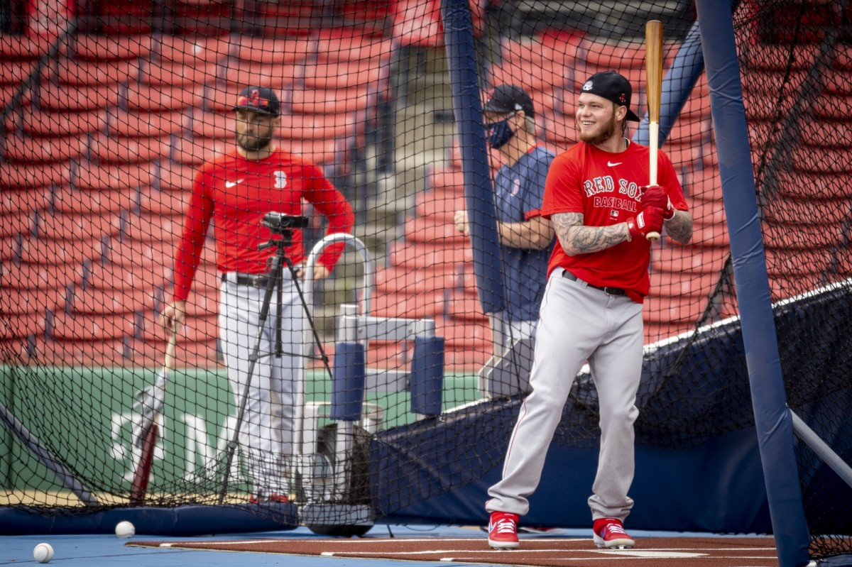 Red Sox' Alex Verdugo Progressing 'Really Well' From BackInjury