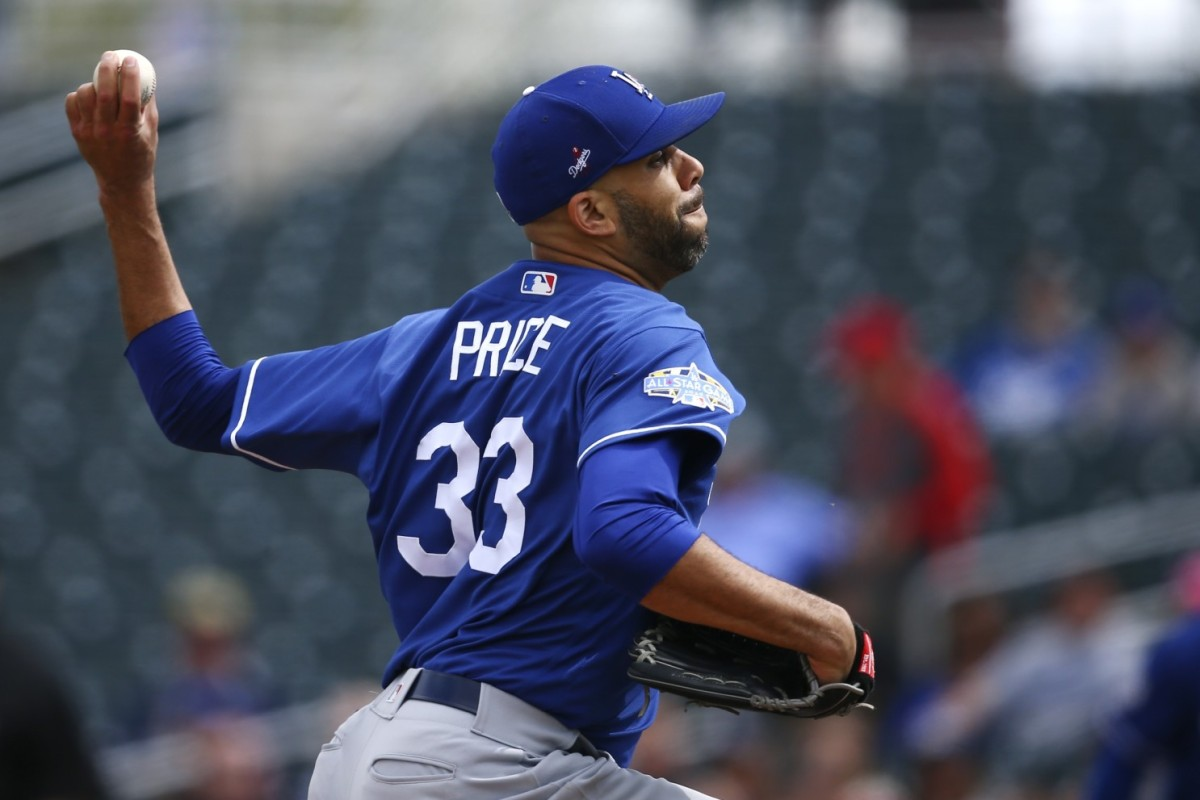 Dodgers' David Price Opts Out of 2020 Season Due to Concerns Surrounding Coronavirus