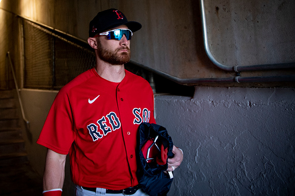 Red Sox' Jonathan Lucroy Embracing 'Dad' Role While Working With Younger Players in Pawtucket