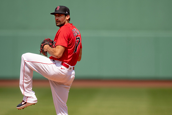 Red Sox' Nathan Eovaldi Tosses Four Scoreless Innings in Intrasquad Action at Fenway Park