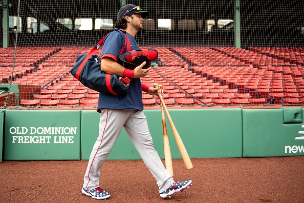 Red Sox Lineup: Andrew Benintendi Back in Leadoff Spot in First Game AgainstMets