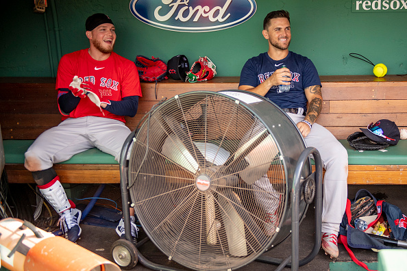 Red Sox' Michael Chavis Helping Teammate Alex Verdugo Get Acclimated to New Club