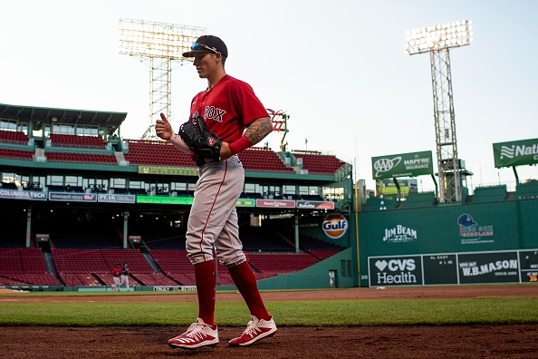 Red Sox Prospect Jarren Duran Belts Two Doubles, Shows off Speed in Fenway Park Debut