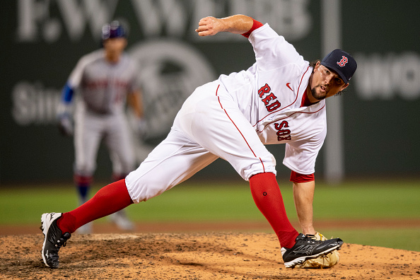 Zack Godley Just About Lone Bright Spot for Red Sox in 7-4 Loss to Mets