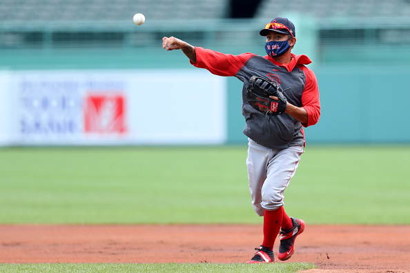 Tzu-Wei Lin, First Baseman? Red Sox Utilityman Gets Taste of New Position in Sunday's Intrasquad Game