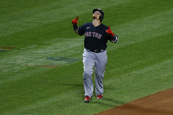 Christian Vazquez and Mitch Moreland Combine to Drive in Five Runs as Red Sox Hold on for 6-5 Win OverMets