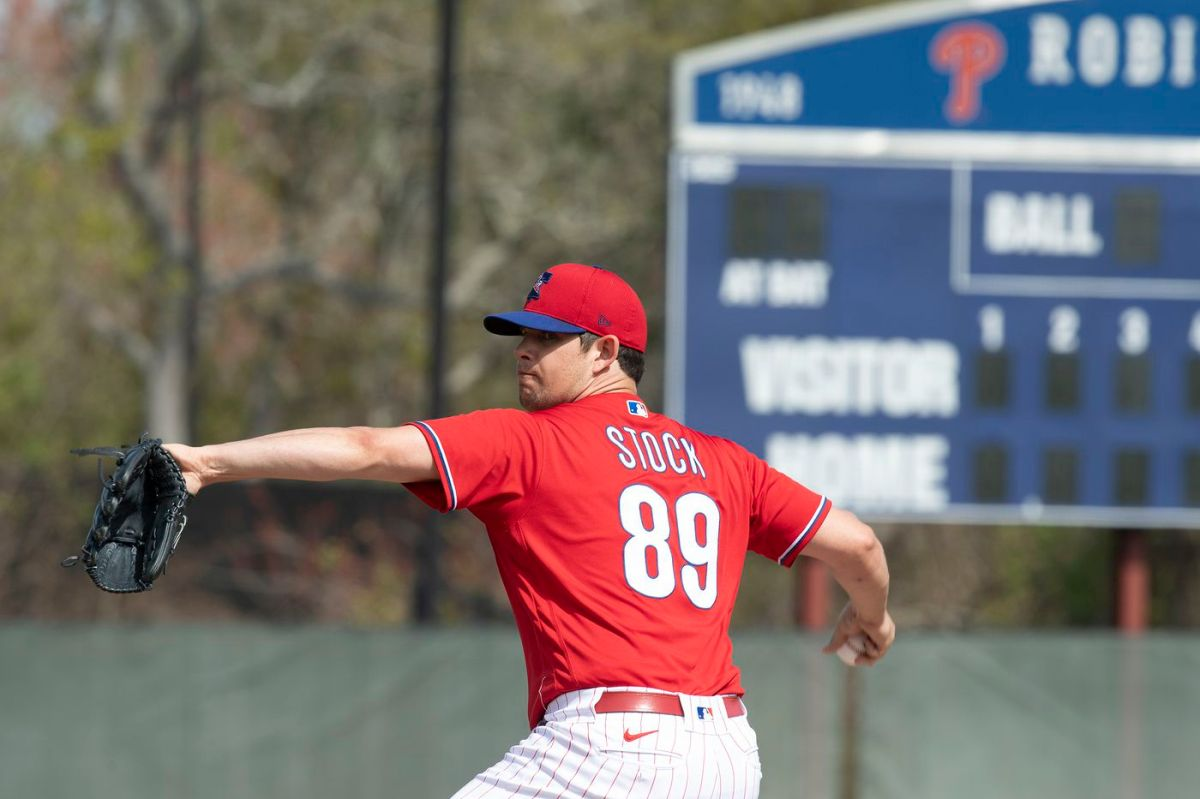Red Sox Claim Right-Hander Robert Stock off Waivers From Phillies
