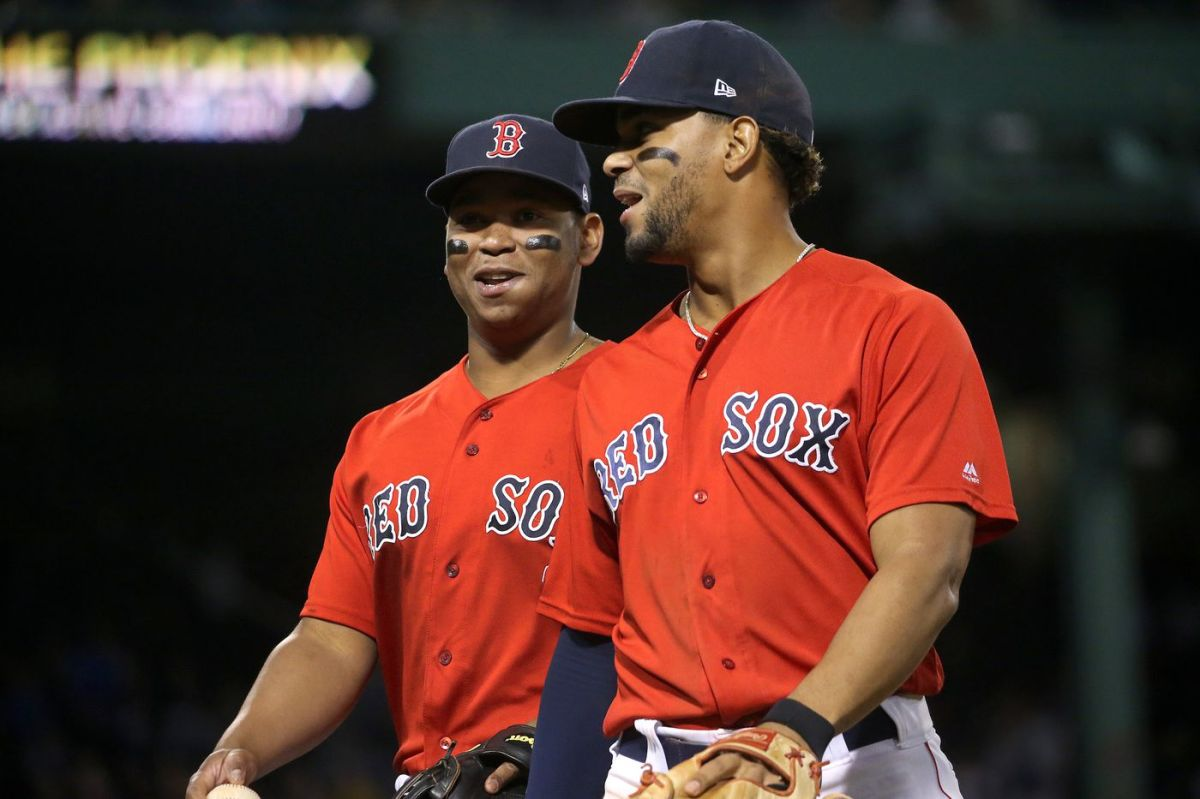 Even After Tough Loss, Red Sox Stars Xander Bogaerts and Rafael Devers Remain Optimistic