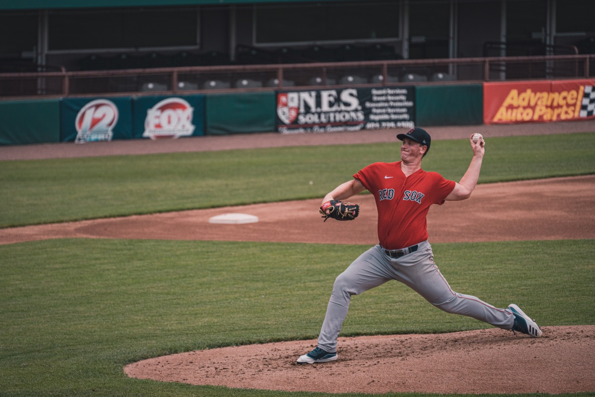 Red Sox Top Pitching Prospect Jay Groome Faces Live Hitters at McCoy Stadium