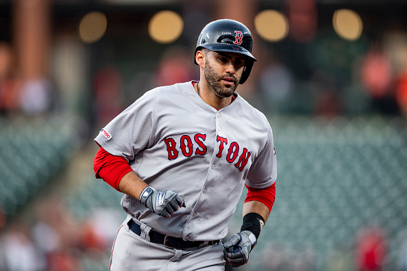 Red Sox Lineup: J.D. Martinez Returns To Bat Out of Three-Hole in First of Four Against Orioles