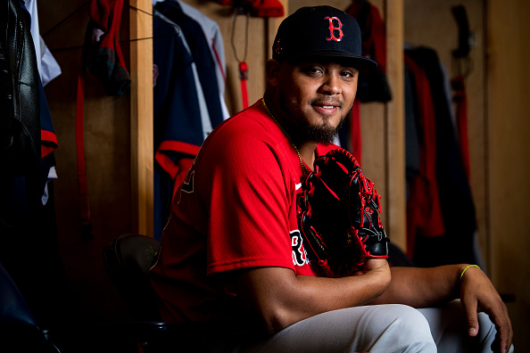 Red Sox Left-Hander Darwinzon Hernandez Records Four Strikeouts During Sim Game in Pawtucket With Chaim Bloom Among Those in Attendance