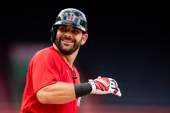 Red Sox' Mitch Moreland Received Extra Motivation From Ron Roenicke Prior to Walking off Blue Jays on Sunday