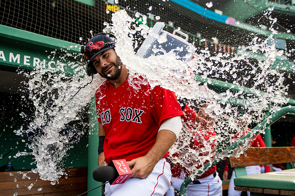 Mitch Moreland Comes Through With Two Homers, Walks It off for Red Sox in Series-Clinching 5-3 Victory Over Blue Jays