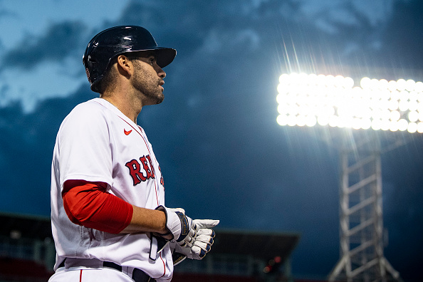 J.D. Martinez Removed From Tuesday's Game Due To Dehydration; Slugger Could Be Back in Red Sox Lineup for Wednesday's Series Finale Against Phillies, Ron Roenicke Says