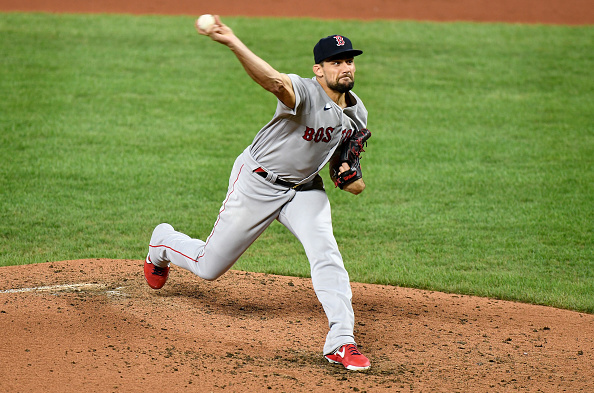 Nathan Eovaldi Tosses Seven Strong Innings, Xander Bogaerts and Mitch Moreland Both Homer as Red Sox Open Series Against Orioles With 7-1 Victory