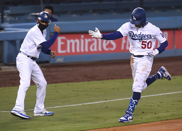 Former Red Sox Star Mookie Betts Goes Deep Three Times for Dodgers, Becomes Third Player in Major-League History With Six Career Three-Homer Games
