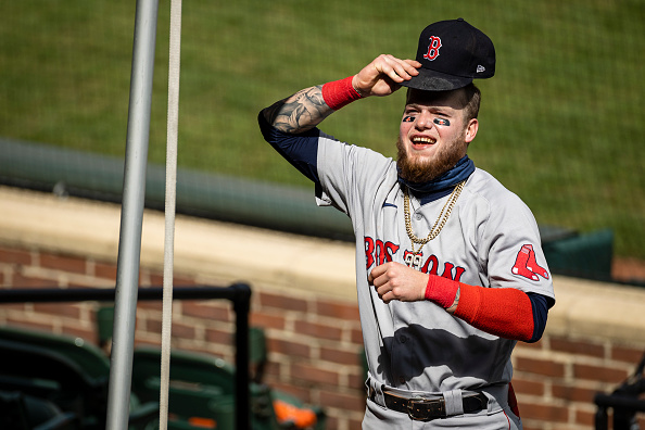 Red Sox Lineup: Alex Verdugo Leading off in First of Three Against Blue Jays in Buffalo