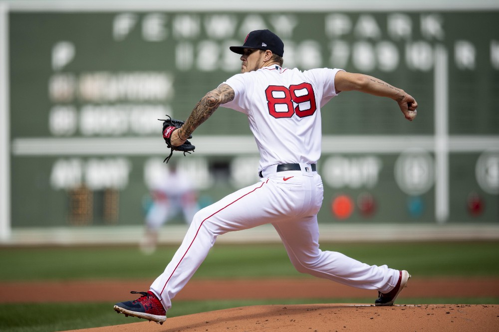 Red Sox' Tanner Houck Leaning on Nathan Eovaldi To Help Develop Splitter