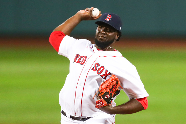 Red Sox Right-Hander Domingo Tapia Claimed off Waivers by Mariners