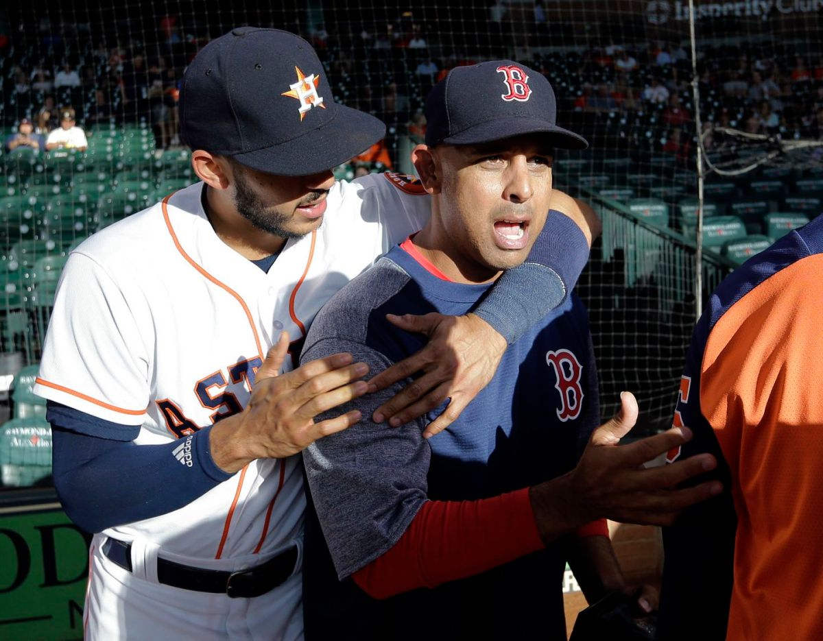 Why the Red Sox should not be counted out of a potential Carlos Correatrade