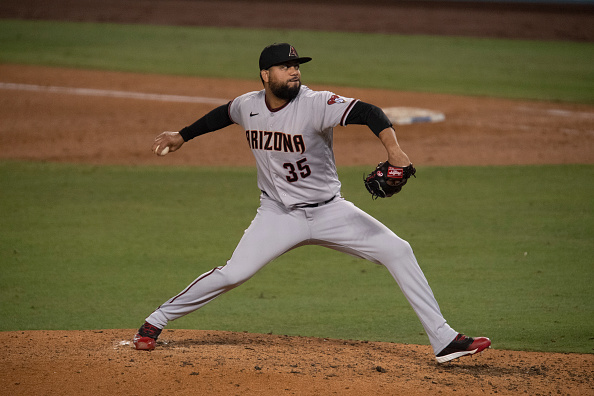 Red Sox claim right-hander Joel Payamps off waivers from Diamondbacks, designate Robert Stock