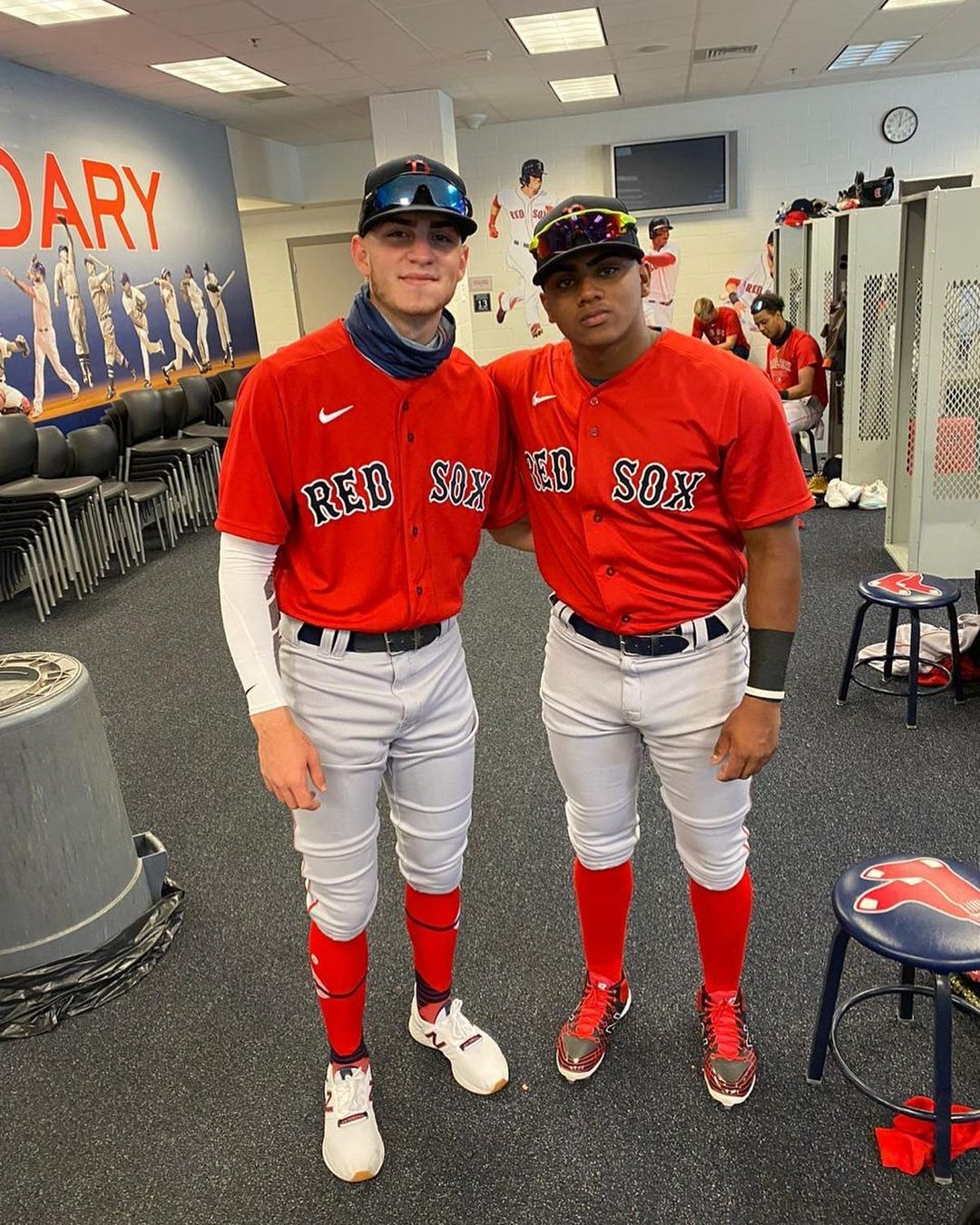 Red Sox prospect Juan Chacon 'caught some attention' at fall instructs, Eddie Romero says