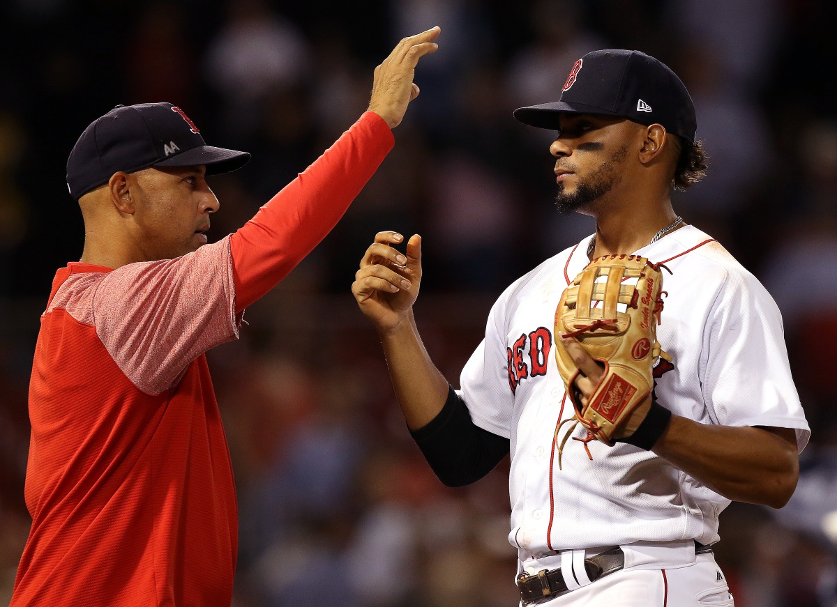 Red Sox manager Alex Cora hoping Xander Bogaerts can become 'elite defender' at shortstop