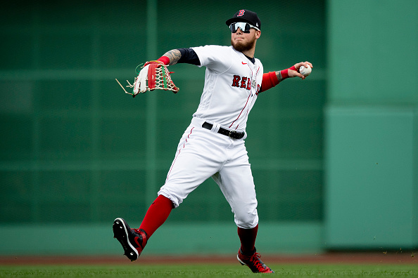 Red Sox 'feel comfortable' with Alex Verdugo playing center field, Alex Cora says