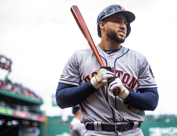 Might Red Sox consider adding George Springer if free-agent outfielder remains unsigned going into spring training?