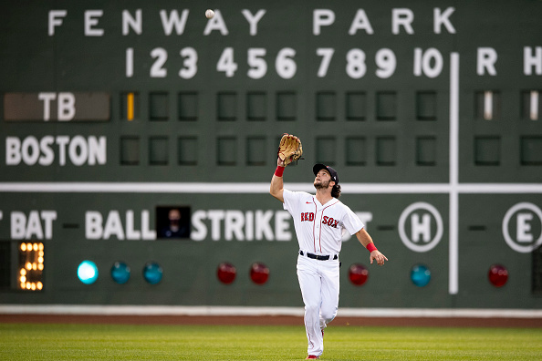 Red Sox in 'serious trade talks' with other teams regarding Andrew Benintendi, per report