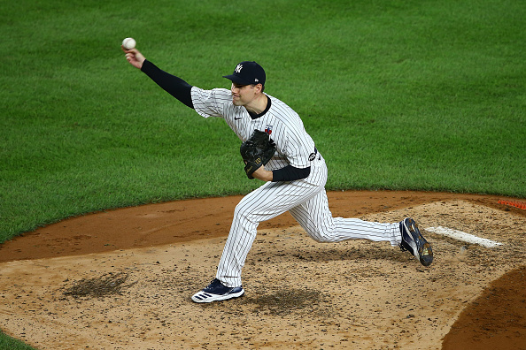 Red Sox acquire right-handed reliever Adam Ottavino, right-handed pitching prospect Frank German from Yankees in exchange for cash considerations or a player to be namedlater