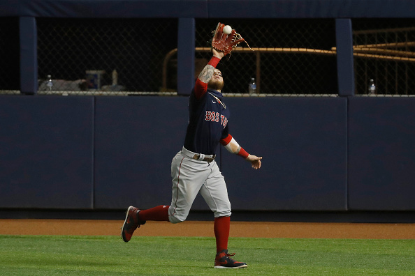 Red Sox' Alex Verdugo named fourth-best center fielder in baseball heading into 2021 season by MLBNetwork