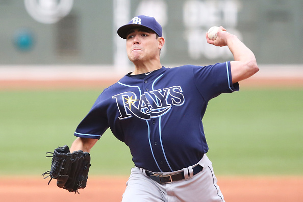 Red Sox have 'engaged in talks' with former Rays left-hander Matt Moore this winter, per report