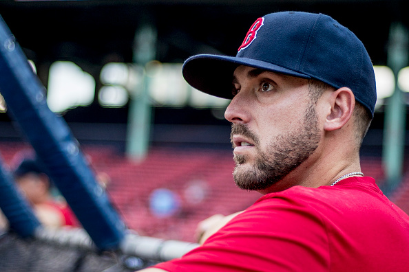 Red Sox have expressed interest in free-agent infielder Travis Shaw, perreport