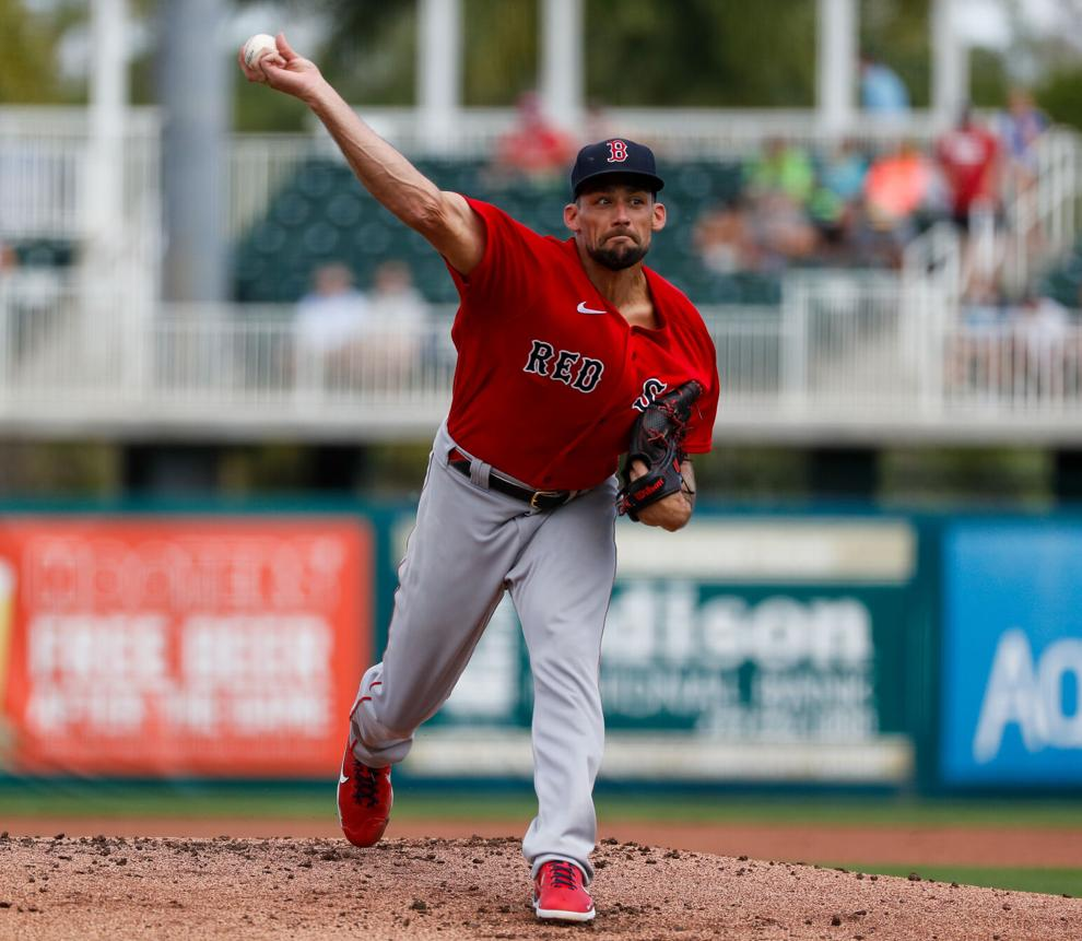 Red Sox' Nathan Eovaldi evaluates his first start of the spring: 'I was excited and rushing through everything, so it was not as crisp as I would likeit'