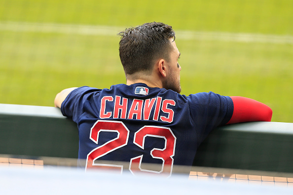 Michael Chavis' chances of making the Red Sox' Opening Day roster appear slim at the moment