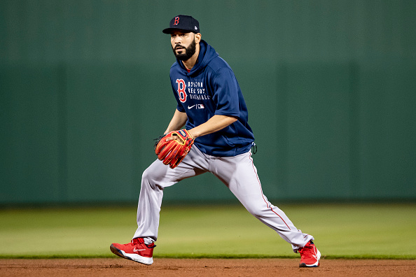 Newest Red Sox utilityman Marwin González takes pride in his versatility, carries up to five different gloves with him