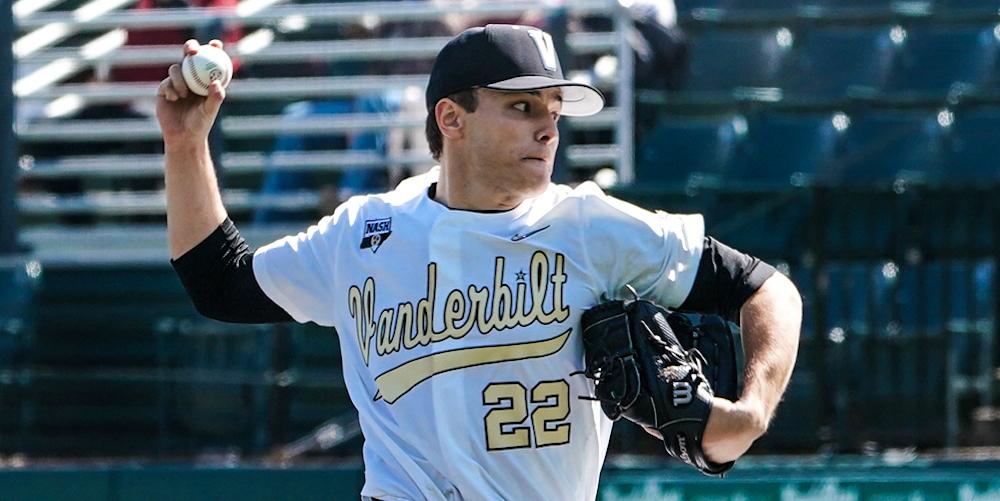 Jack Leiter, potential Red Sox draft target, strikes out 16, tosses no-hitter forVanderbilt