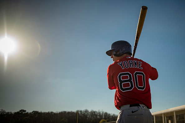 Nick Yorke, the youngest player at Red Sox camp, makes solid first impression in spring debut