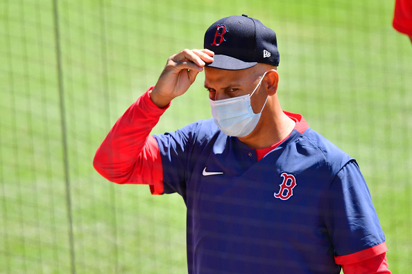 Saturday was a long day for Red Sox manager Alex Cora