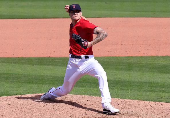 Red Sox option right-hander Tanner Houck to alternate trainingsite