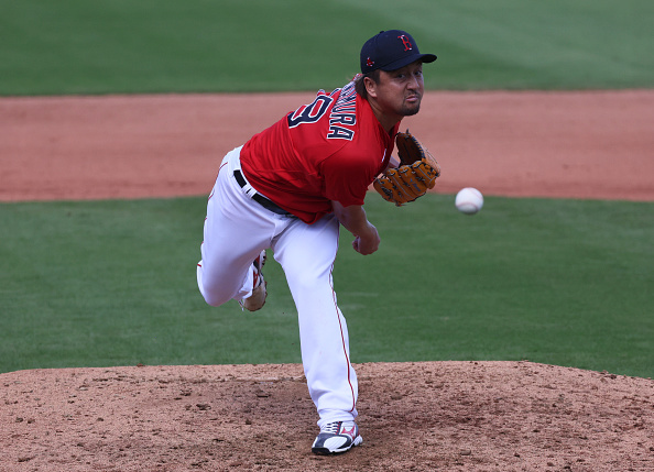 Red Sox reliever Hirokazu Sawamura puts together first perfect outing of spring; 'You can tell he feels more comfortable,' Alex Cora says