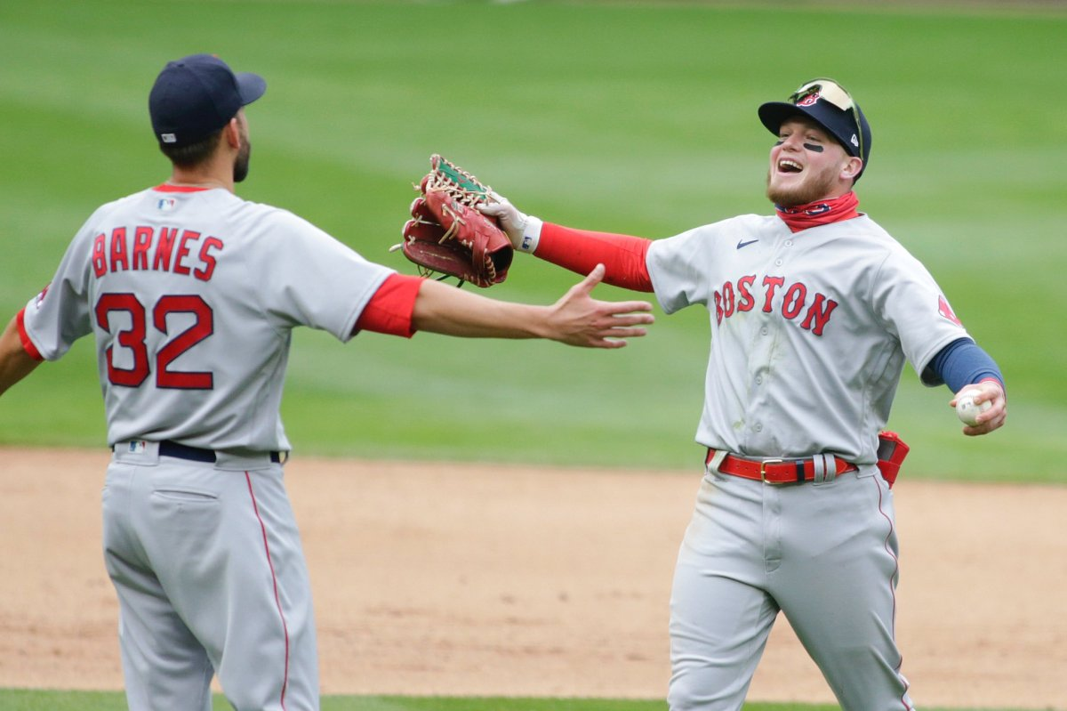 Red Sox' Alex Verdugo had a feeling he would make game-saving catch against Twins moments before it happened: 'It's one of those plays that you think about right before ithappens'