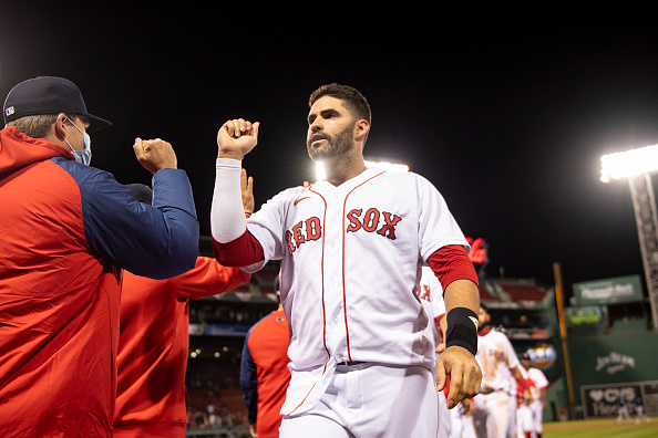 J.D. Martinez comes through with walk-off double as Red Sox top Rays, 6-5, in 12 innings for first series win of season