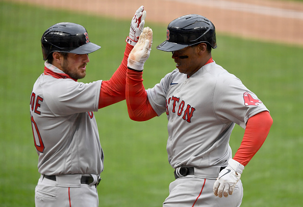 Bobby Dalbec comes through with 2 clutch hits, Hunter Renfroe and Rafael Devers both homer as Red Sox come back to defeat Twins, 4-2, and pick up seventh straight win